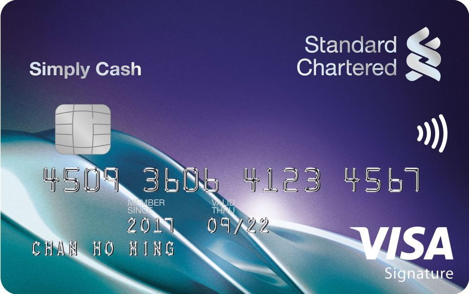 Simply Cash Visa